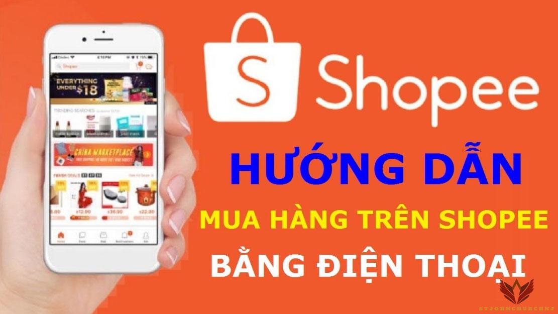 Hướng dẫn mua hàng trên Shopee bằng điện thoại