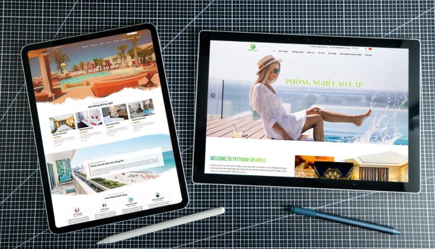 giao diện website khách sạn đẹp