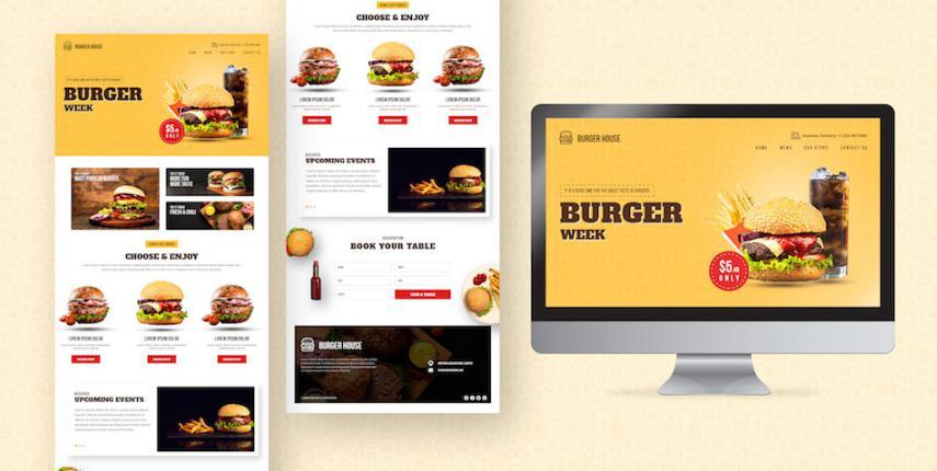 Thiết kế website nhà hàng thân thiện