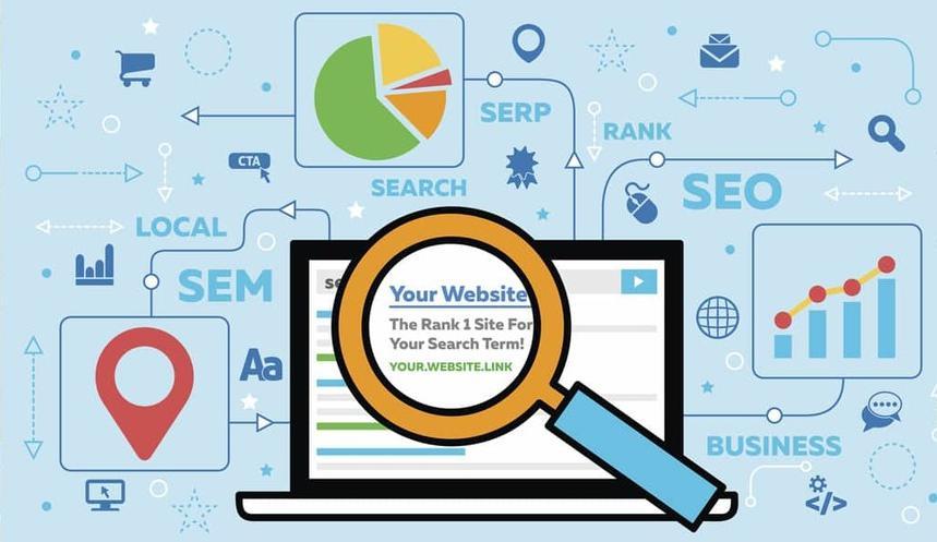 Website có thứ hạng cao trên bảng tìm kiếm