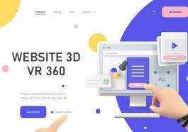 Lợi ích thiết kế website 3D - website VR 360 độ giới thiệu sản phẩm