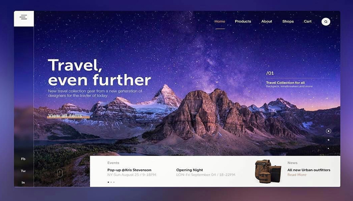 Website 3D khác gì website thường